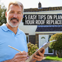 5 Easy Tips on Planning Your Roof Replacement