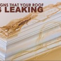 5 Signs That Your Roof is Leaking